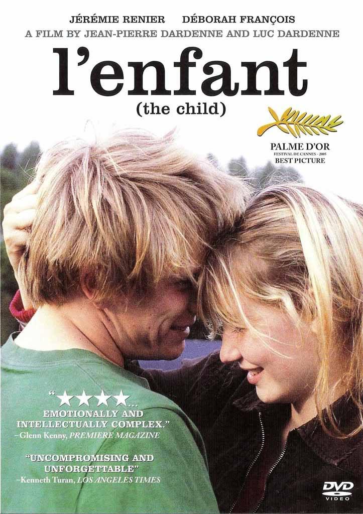 Affiche Festival de Cannes  La Palme d'or pour L'Enfant
