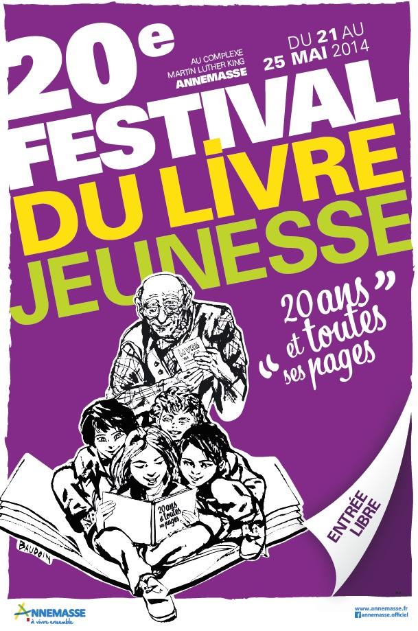 Image Festival du livre jeunesse d'Annemasse
