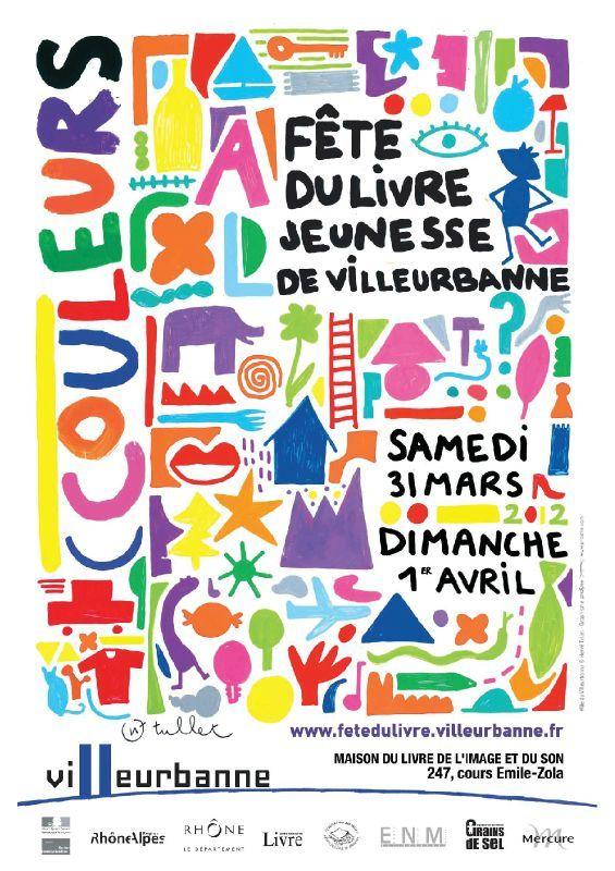 Image Fête du livre jeunesse de Villeurbanne