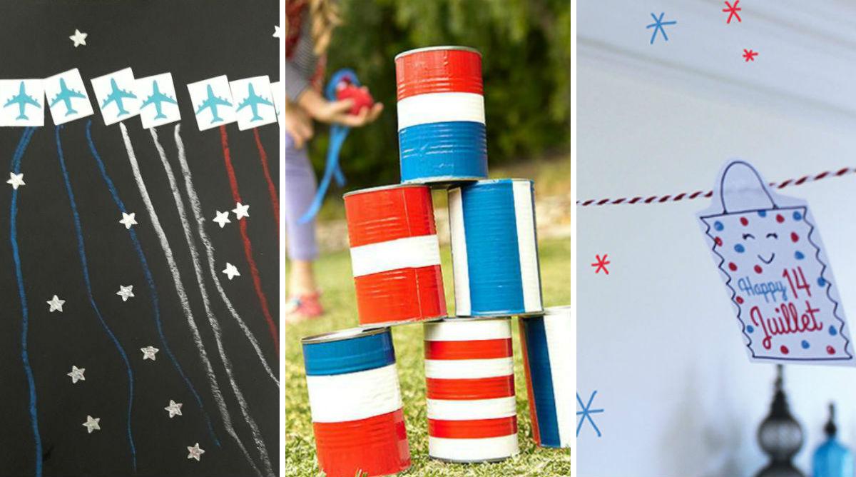 Fête nationale : jeux et créations spécial 14 juillet