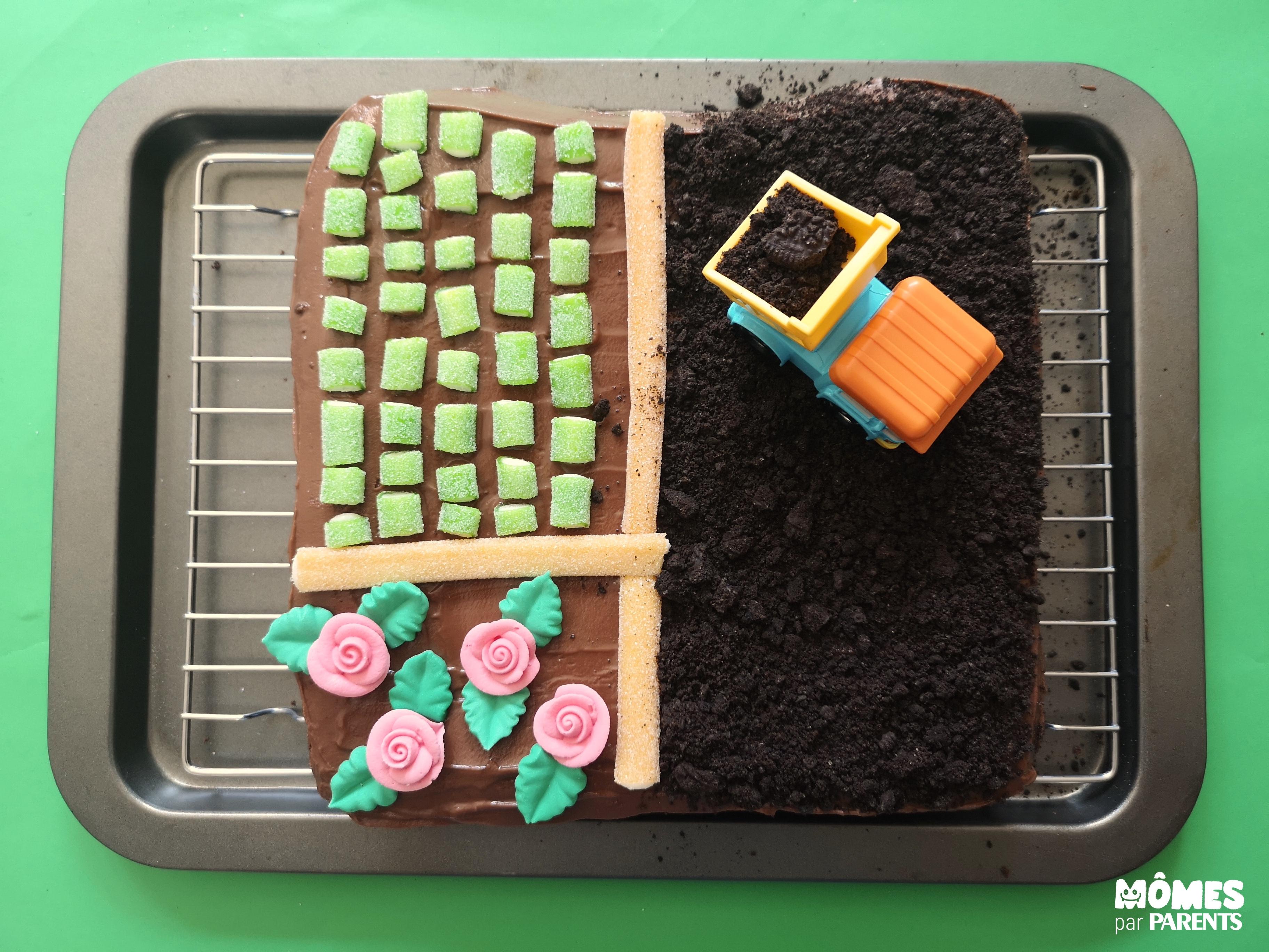 fin gâteau ferme