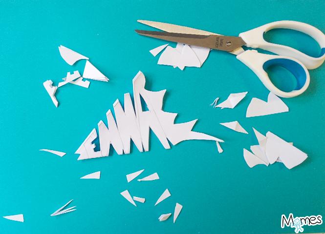 faire des flocons en papier
