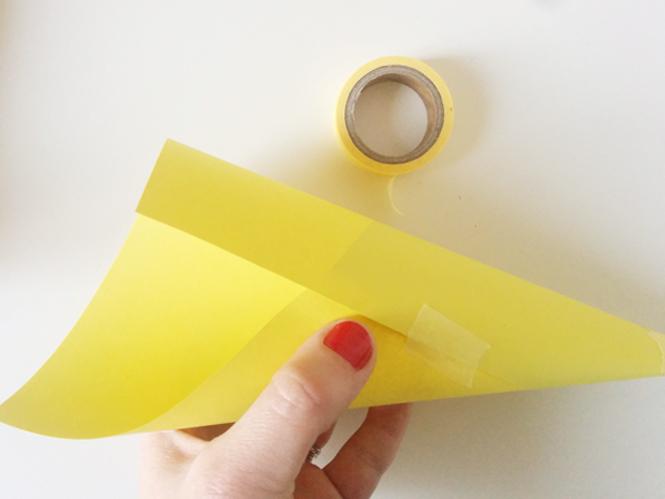 cone de papier