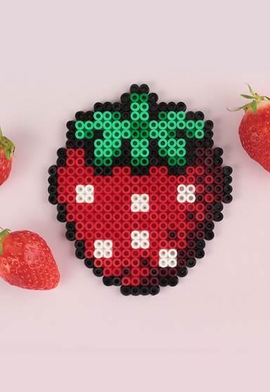 fraise perles chauffantes 2