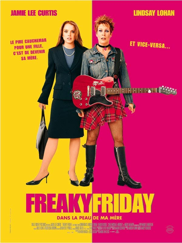 Affiche Freaky friday