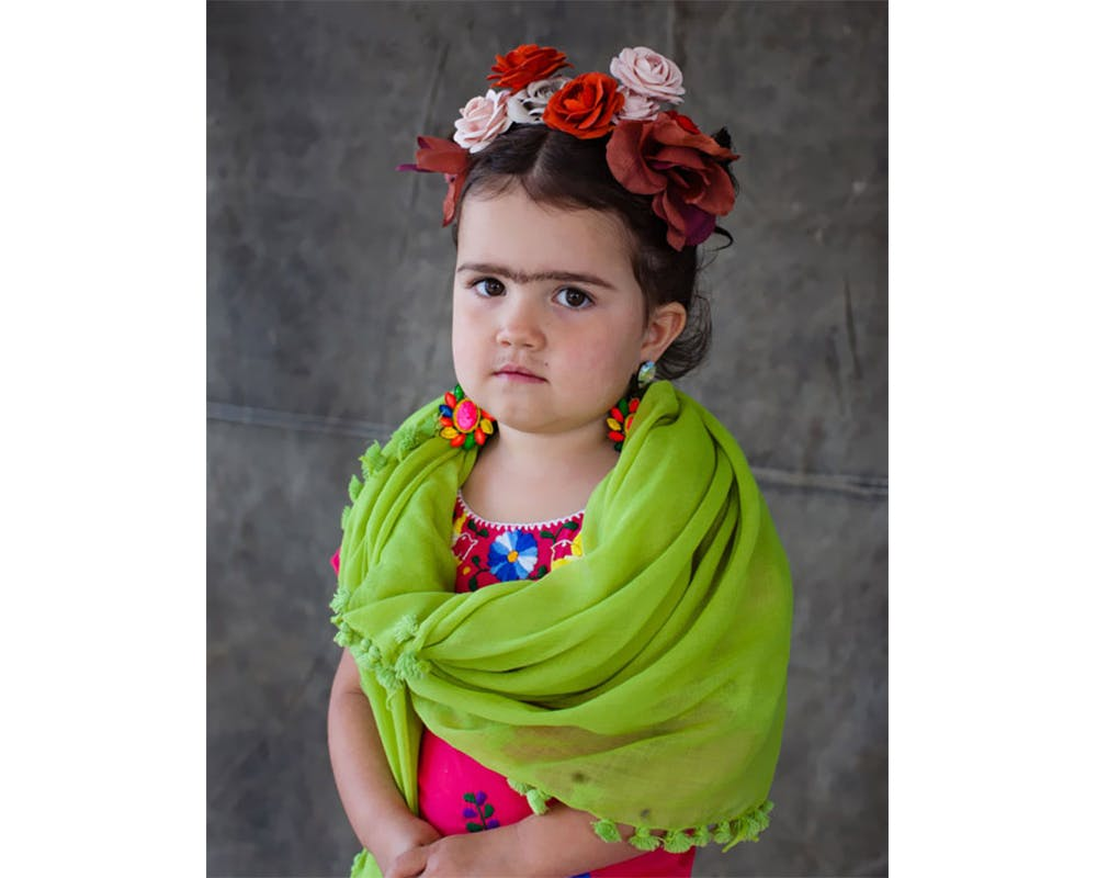 Frida Khalo déguisements costume Halloween enfants