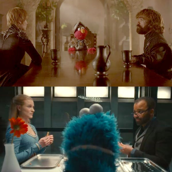 sesame street game of thrones westworld HBO respect #RespectIsComing #RespectWorld