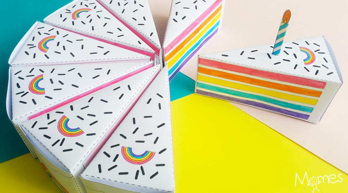 Coloriage Ingredients Gateau.Gateau A Imprimer Et A Colorier Momes Net