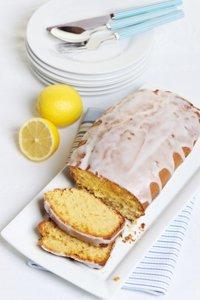 Gâteau au citron avec son glaçage