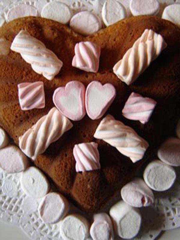 Gâteau au yaourt au chamallows