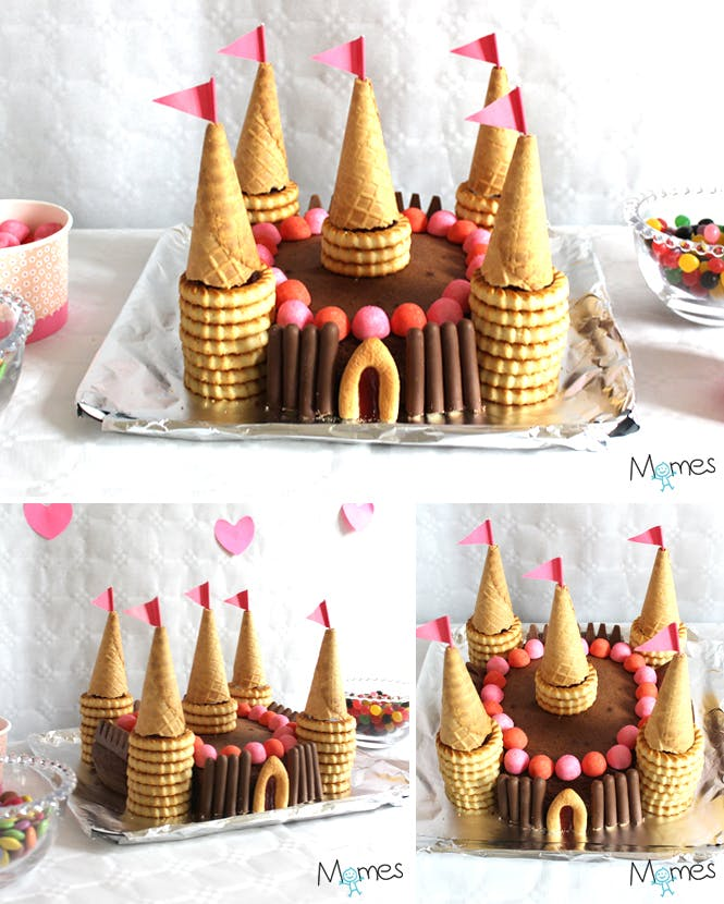 Gateau chateau princesse facile a faire