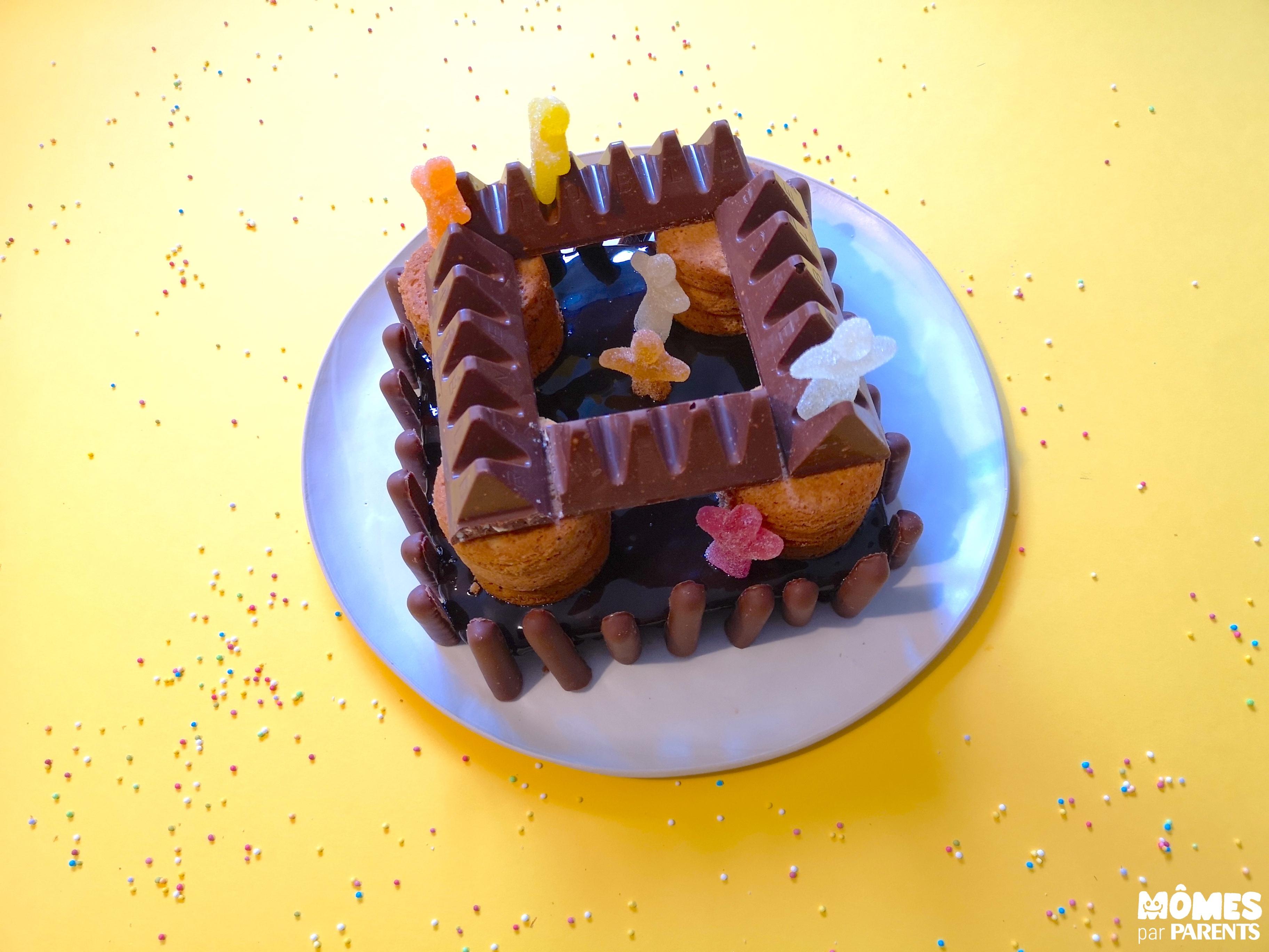 gâteau chevalier fini