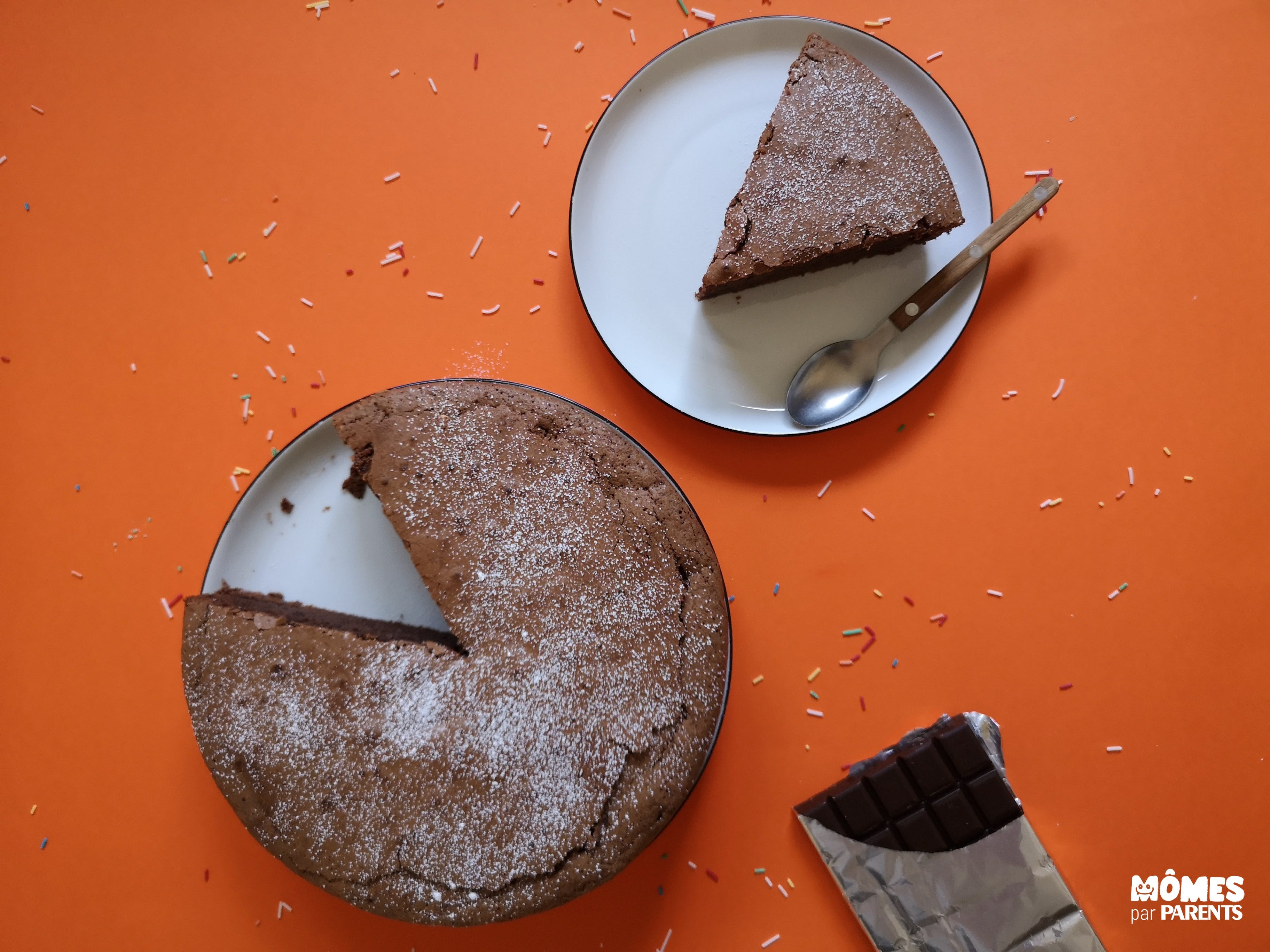 gâteau chocolat fin