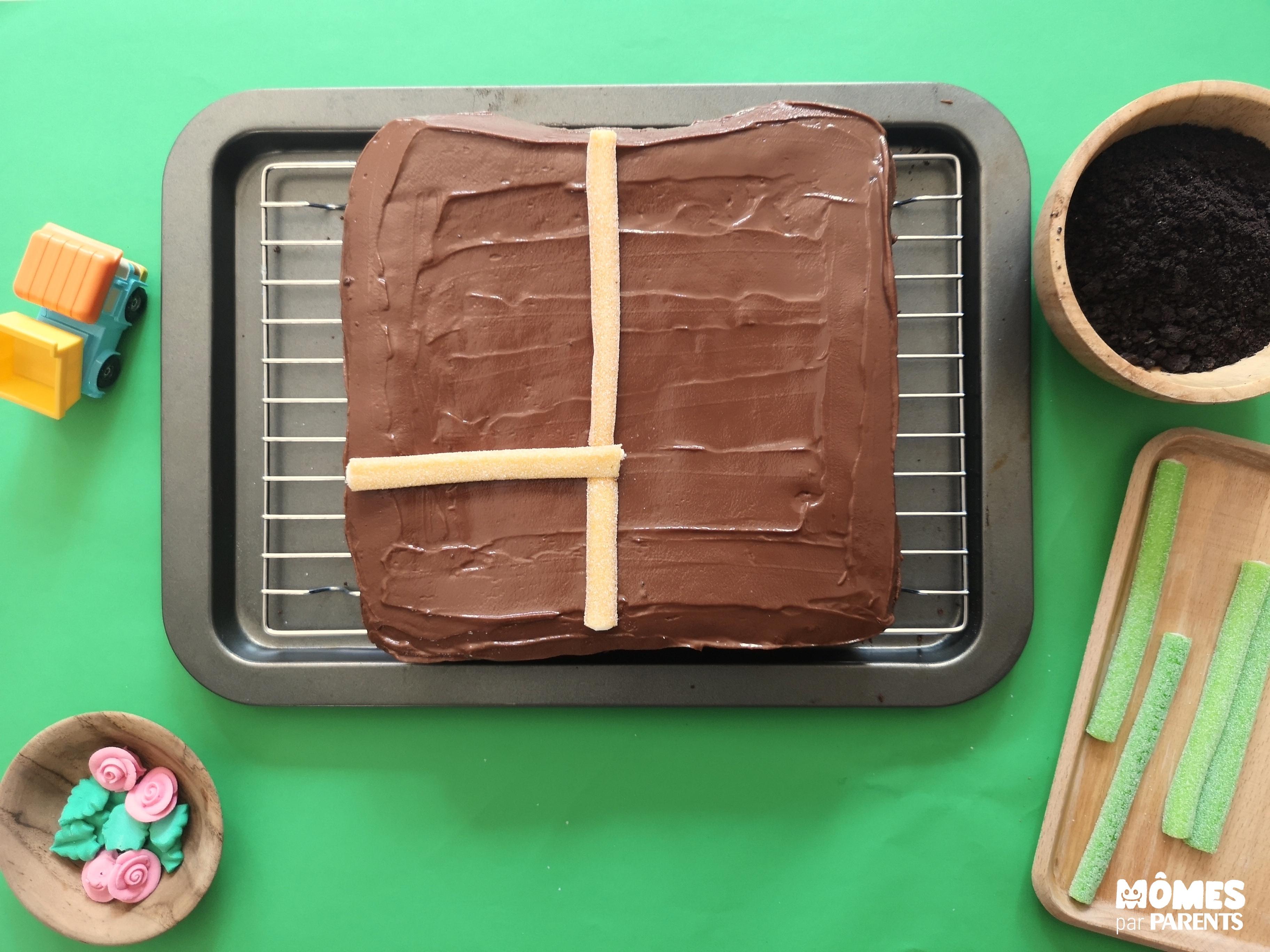 gâteau ferme décor 1