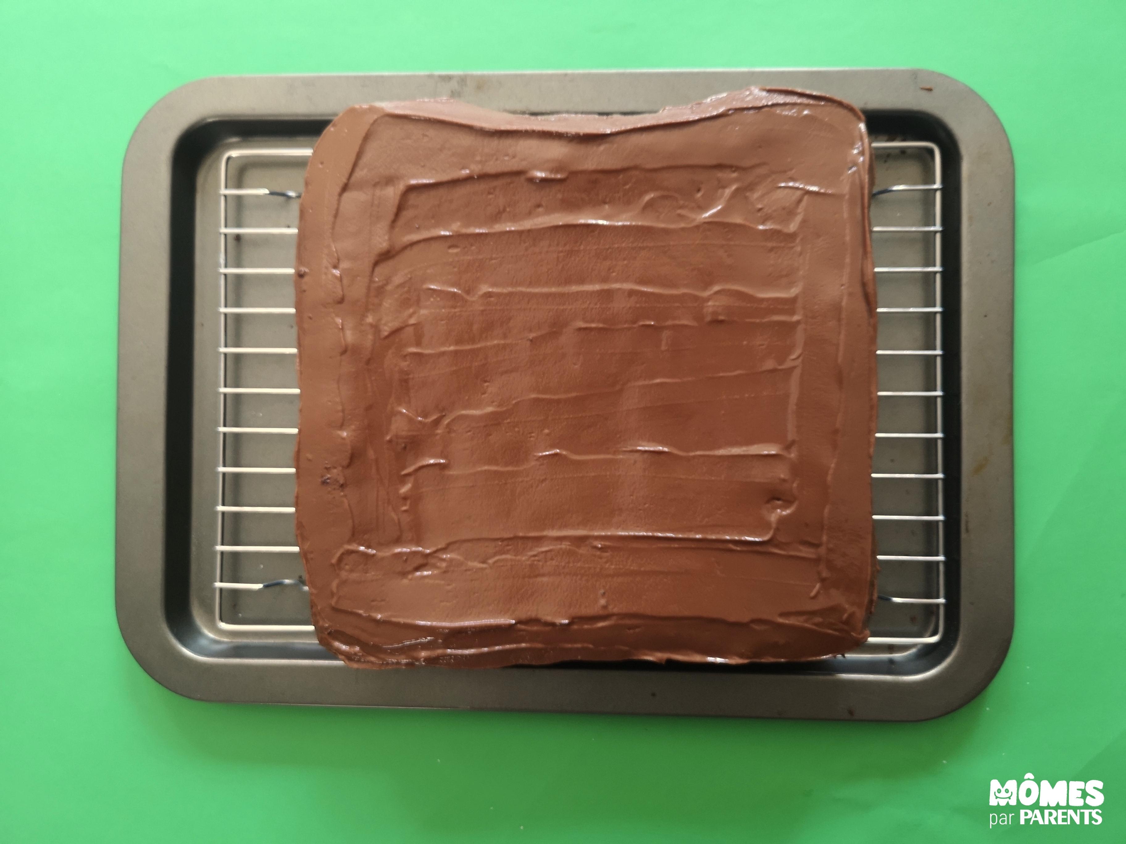 gâteau ferme nappé