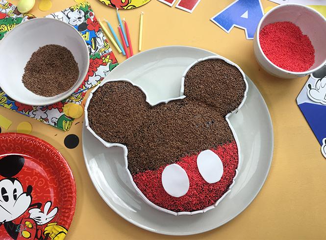 gâteau Mickey fini