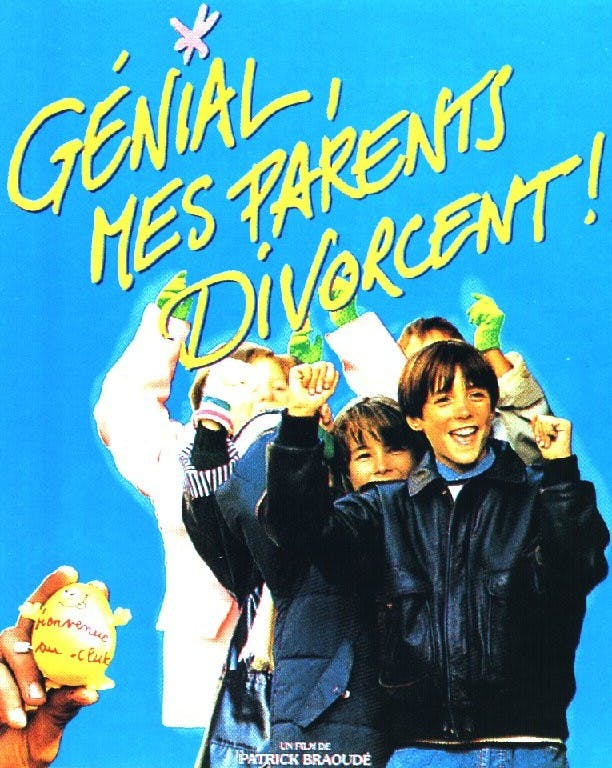Affiche Génial mes parents divorcent!