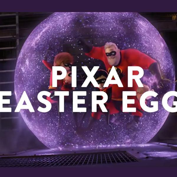 Génial : Pixar a compilé en vidéo tous ses easter eggs !