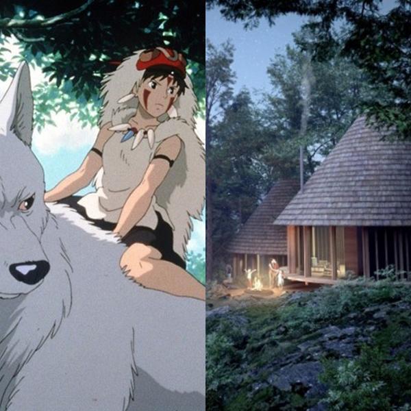 Ghibli : un superbe camping Princesse Mononoké va bientôt ouvrir