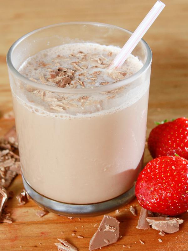 Gibelotte aux fraises chocolatées