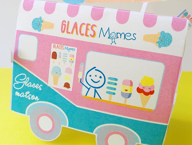 camion de glace jouet