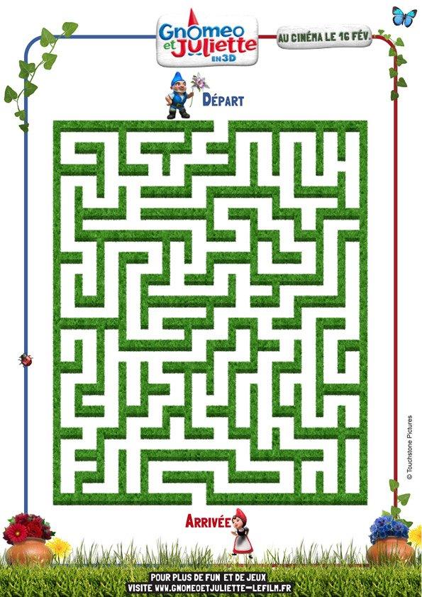 Gnoméo et Juliette : la labyrinthe (2)