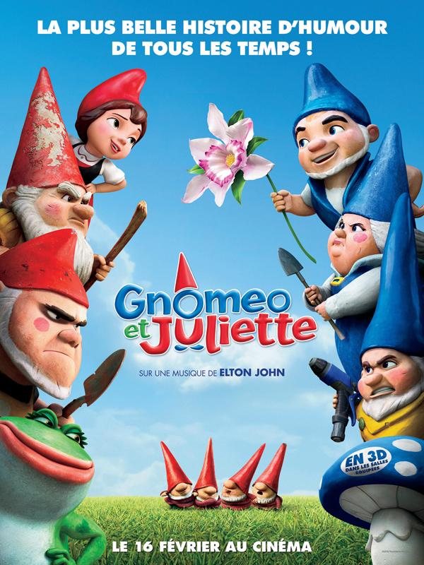 Affiche Gnoméo et Juliette