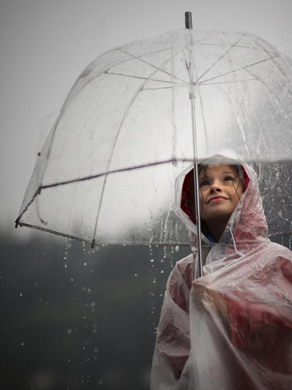 Comptine Gouttes, gouttelettes de pluie