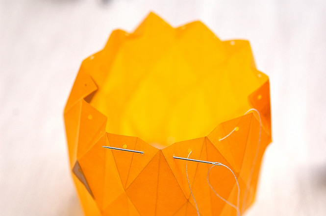 Une Lanterne Dhalloween En Origami Momesnet