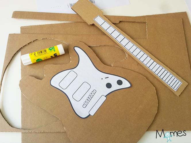 Turbo Fabriquer une guitare en carton - Momes.net BN92