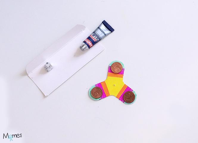 hand spinner en carton