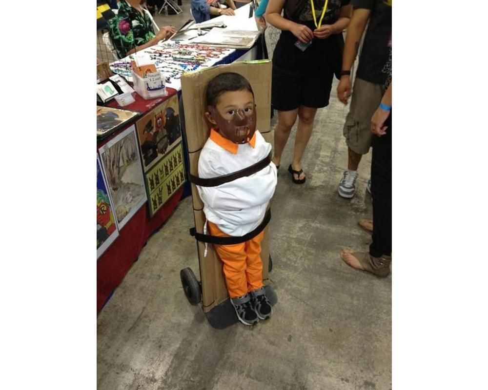 Hannibal Le silence des agneauxdéguisement enfant Halloween