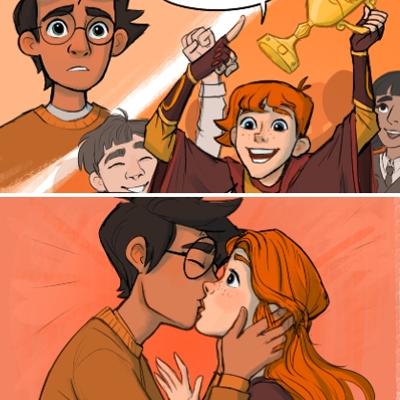 Harry Potter scènes oubliées en BD Katie Knudson
