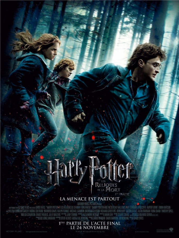 Affiche Harry Potter et les reliques de la mort- Partie 1