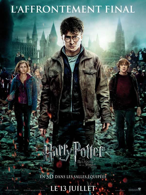 Affiche Harry Potter et les reliques de la mort- Partie 2