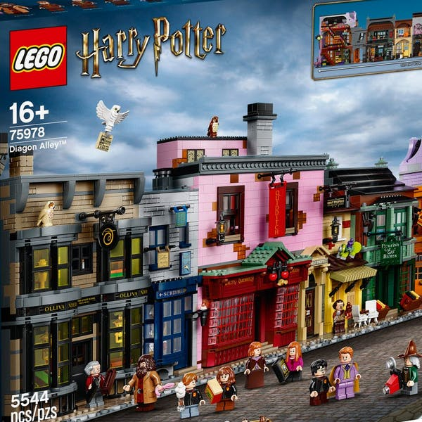set lego chemin de traverse Harry Potter