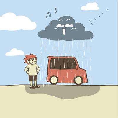 Hey Cloud!, la BD d'un petit nuage très agaçant !