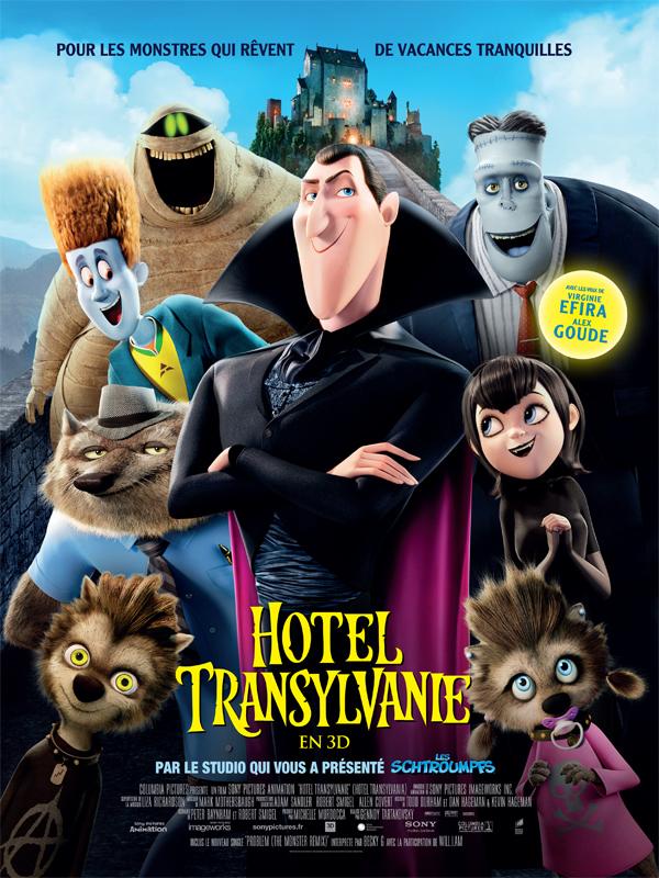 Affiche Hôtel Transylvanie