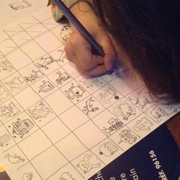 Hybrides jeu de dessins inventé par Boulet pour occuper les enfants confinement coronavirus