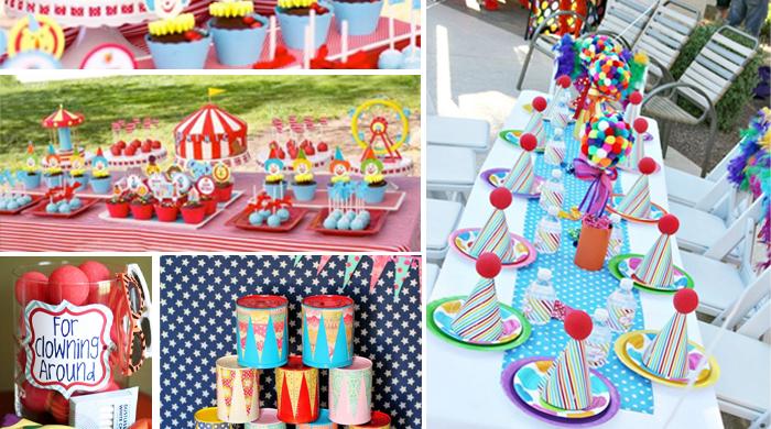 idées anniversaire enfant cirque