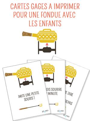 Idées de gages pour fondue