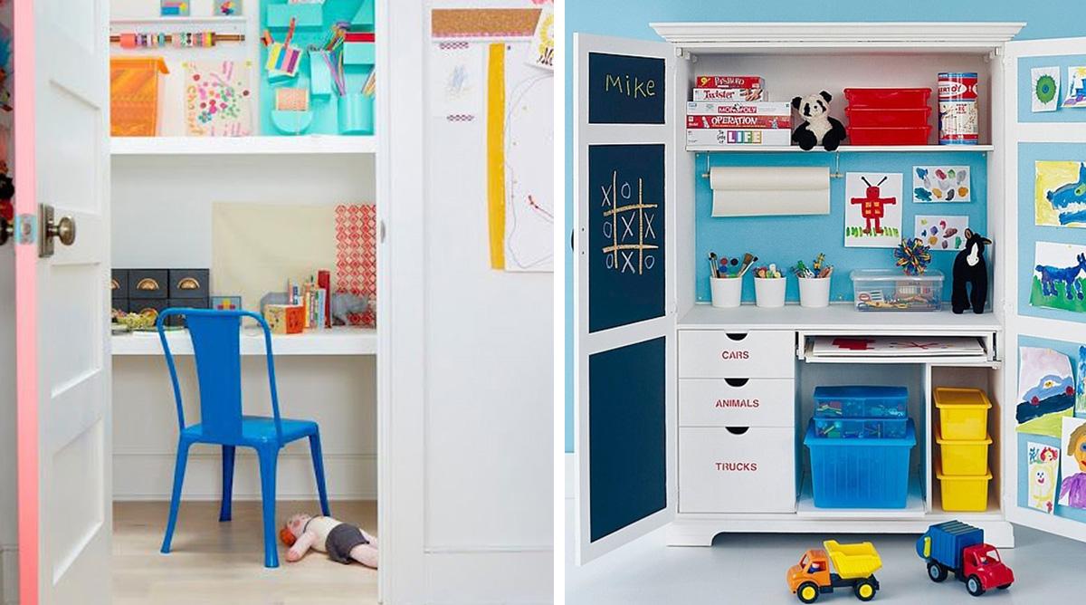 Idées pratiques pour aménager un bureau d'enfant