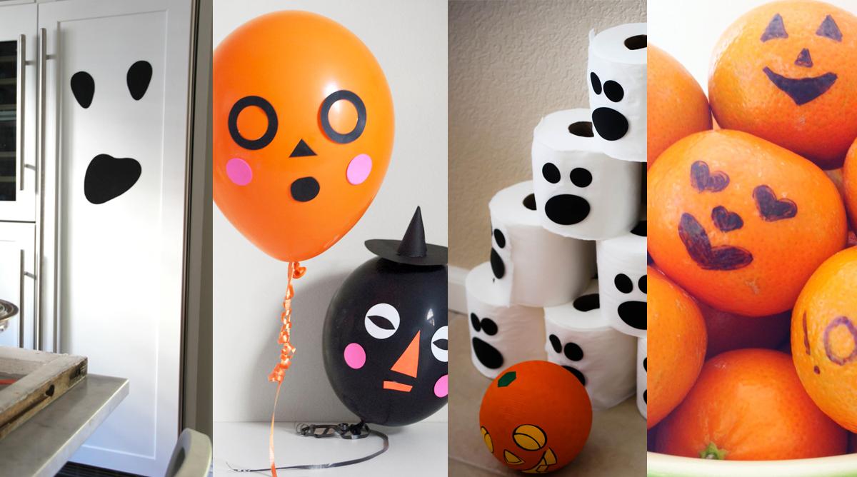 Idées rapides et faciles pour fêter Halloween avec les enfants