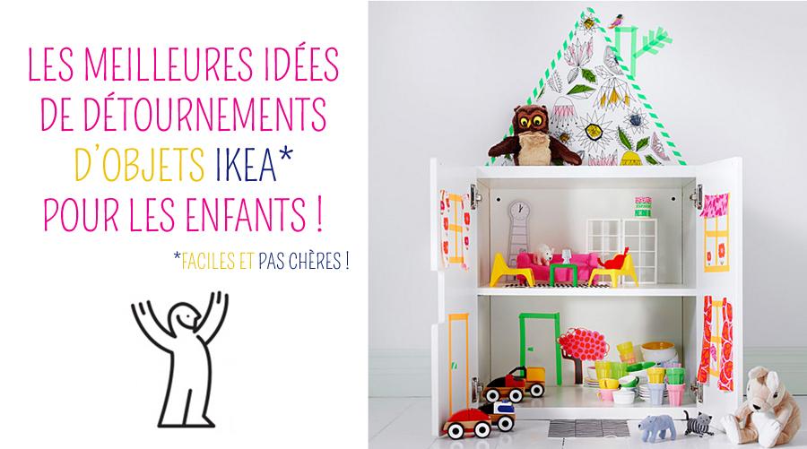 Ikea hack : transformer les meubles Ikea pour une chambre d'enfant !
