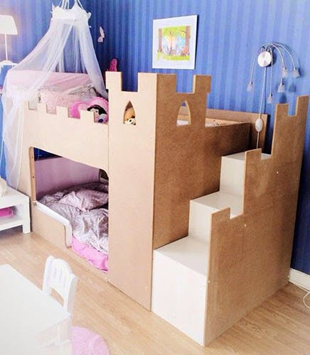 les super transformations de lit pour enfant kura d 39 ikea. Black Bedroom Furniture Sets. Home Design Ideas