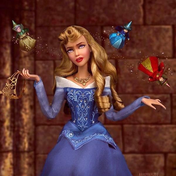 Barbie personnages célèbres aaronmalibu