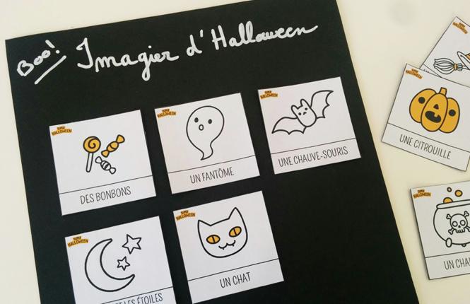 imagier halloween maternelle