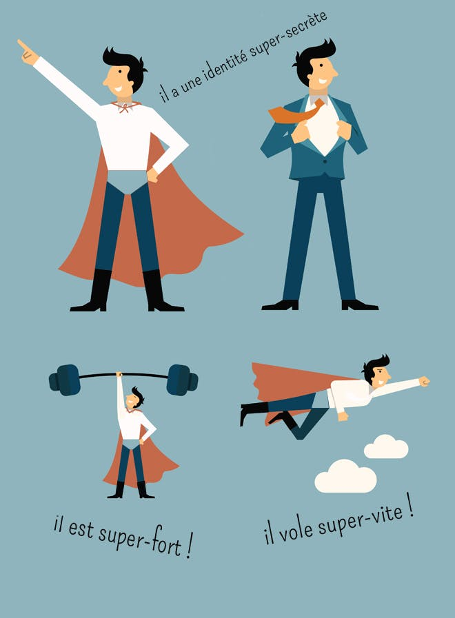 info super heros