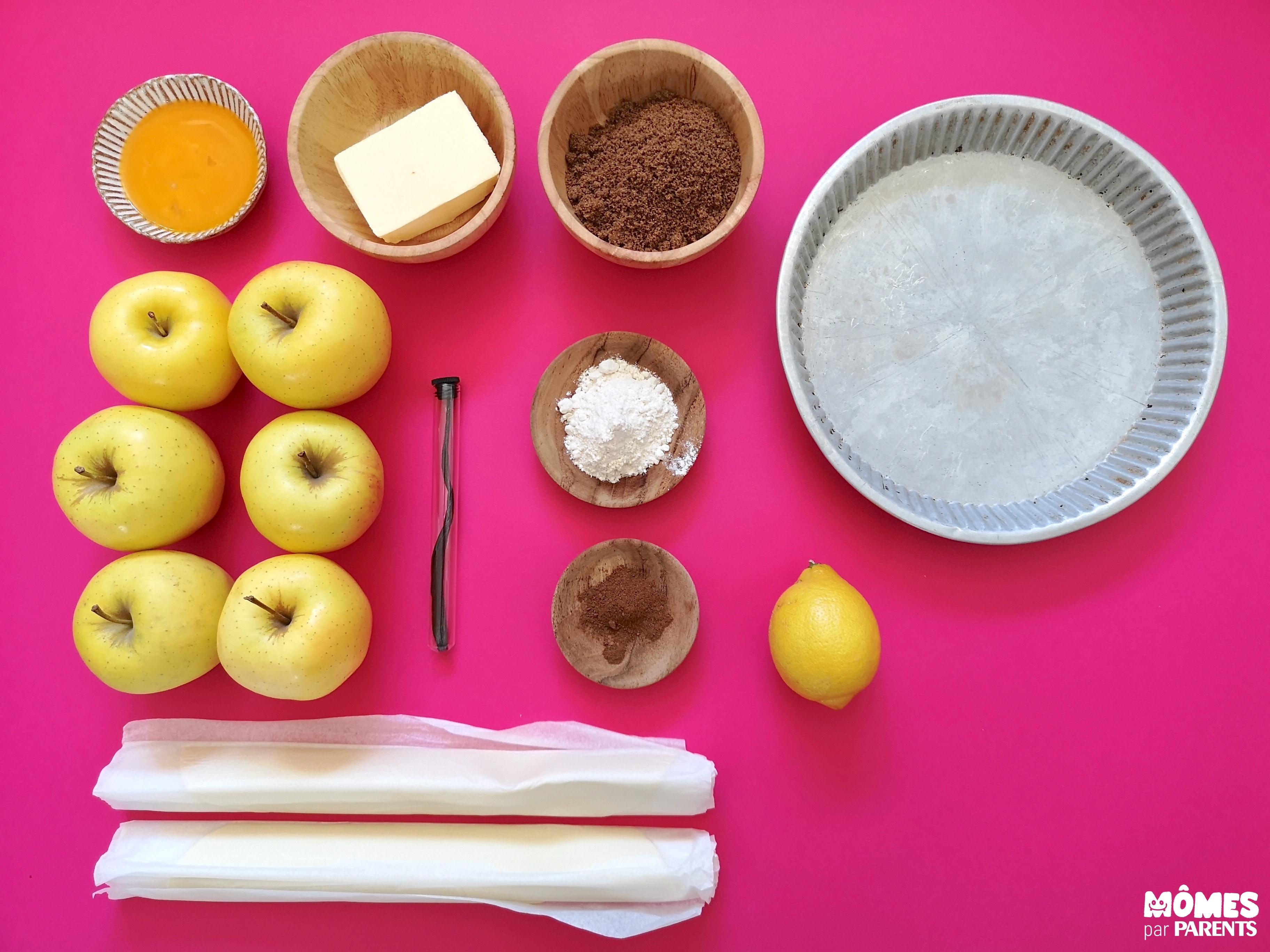 ingrédients apple pie
