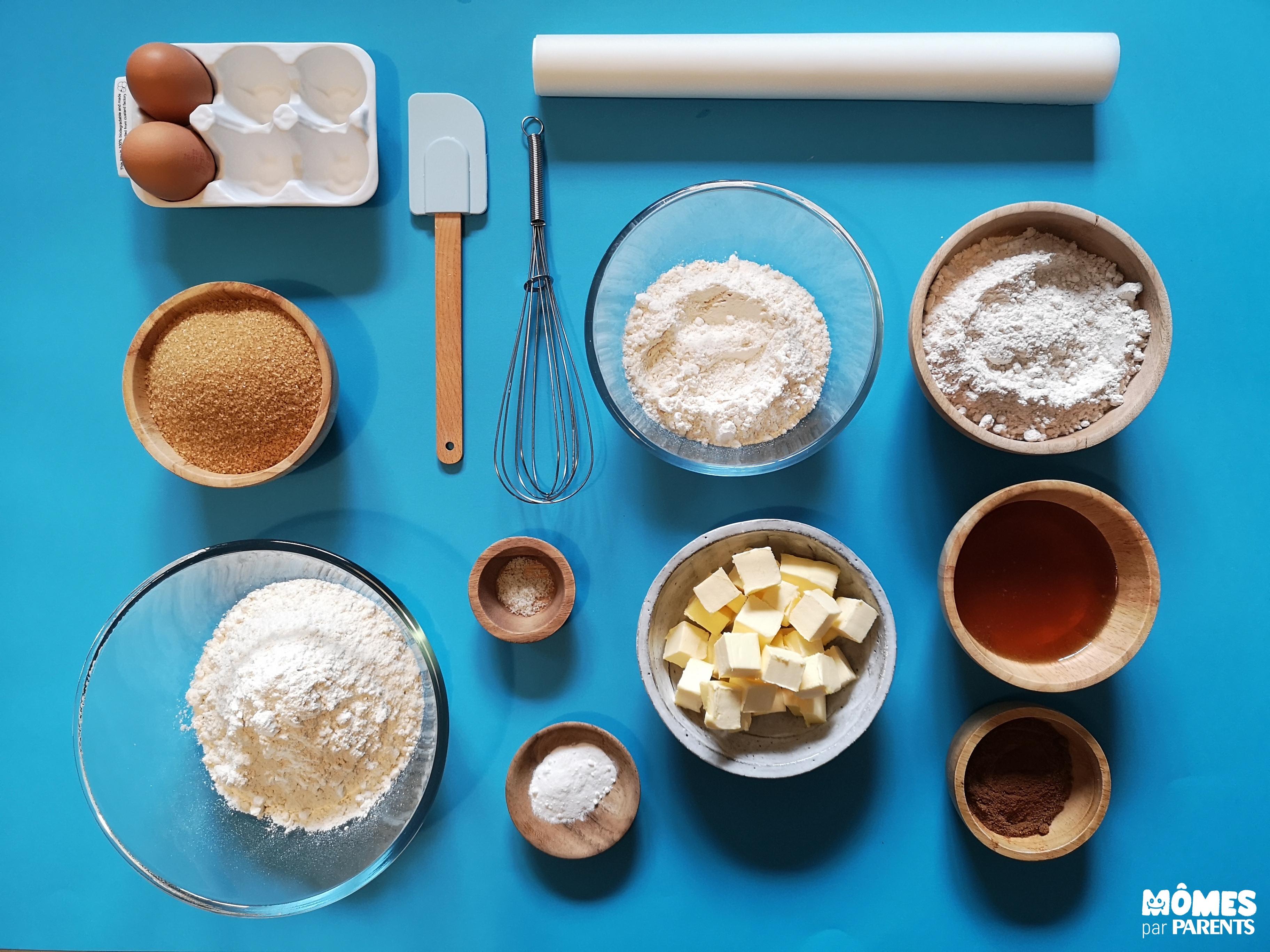 ingrédients gingerbread